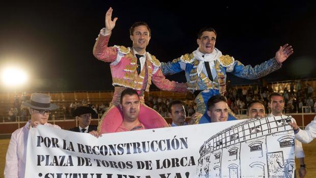 rafaelillo y Paco ureña