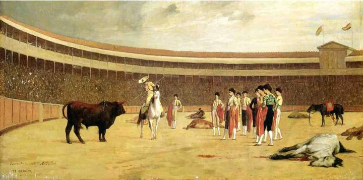 Jean-Leon-Gerome-Bull-and-Picador