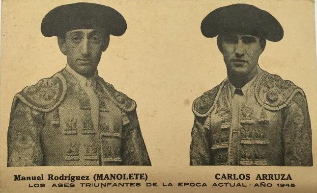 20-Manolete y Arruza