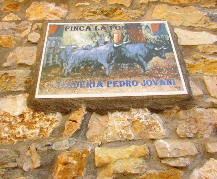 CARTEL DE ENTRADA A LA FINCA.JPG