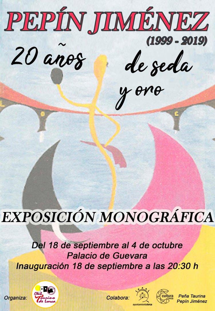 Cartel Exposición Pepín