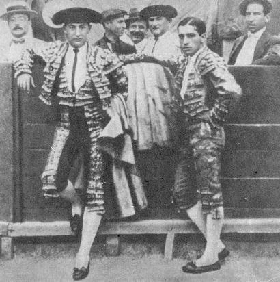 Joselito y Belmonte en Murcia pocos días antes de la tragedia de Talavera
