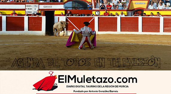 TOROS EN TELEVISIÓN 2019